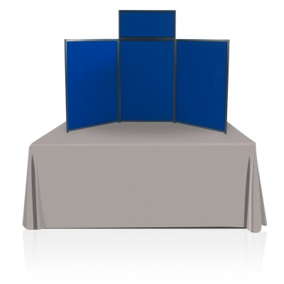 Tabletop Panel Display 6 ft. ( Blue)